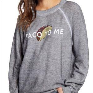 NWT WILDFOX Taco to Me Sweatshirt size xs